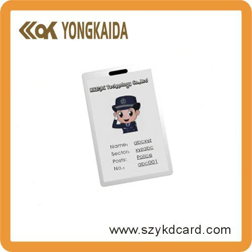 Thick RFID SMART TK4100 Student ID Card Holder For Access Control