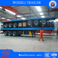 truck trailer loading 50T container semi trailer for sale