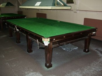 Second Hand Full Size Snooker Table