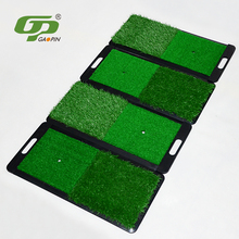 30cm x 60cm custom mini exercise golf hitting practice swing mat