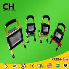 50 w cob y smd mango recargable de carga led exterior de trabajo light led flood light lámpara de mano portable