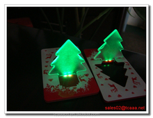 2016 Discount Gifts & Crafts mini pocket led card light LED card lamp