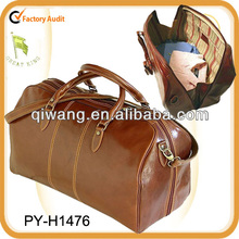 High quality vintage leather weekend bags for your travel