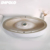 High grade hotel used face wash basin counter bathroom oval sink ceramic