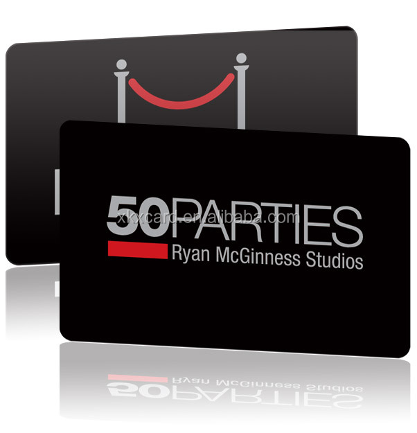 CR80 Size Printed PVC Plastic Business/Gift Card