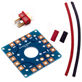 Multi-Rotor Power Distribution Board With Male Deans T Connector Kit
