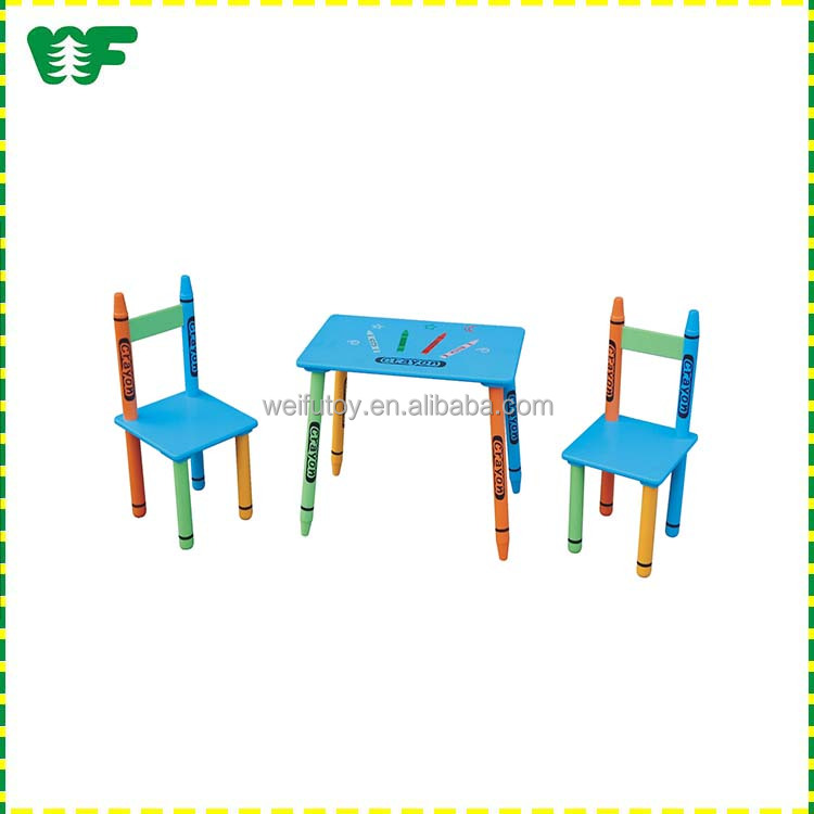 Low price kids study table and chair