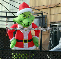 2013 new outdoor inflatable christmas grinch for sale