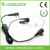 [E1802]FBI Headset Mic/Dual Speakers Earing Earpiece for Secret fbi Action Transparent Tube with Microphone & Push to Talk