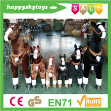 lovely walking horse!CE high quality horse toy to ride