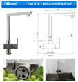 ABL factory price stainless steel kitchen faucet 304