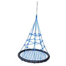 Round outdoor tree kids swing chair