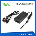 TengShun ac 220v dc 48v 2a lead acid battery charger for elctric bike / scooter / hoverboard