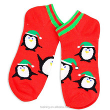 Cheap price christmas gift 100% cotton wholesale tube socks