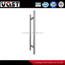 China Online Shopping Ladder Style Stainless Steel Door Handle for Sliding Wood &Glass Door