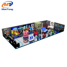 Mantong Merryland CE arcade kids coin operated game machine children playground for fun land