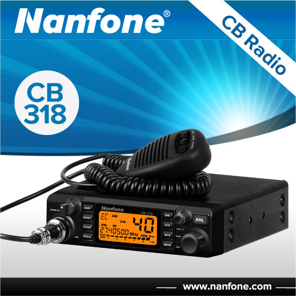 CB-318 AM/FM CB Radio With Wide Frequency 25-30MHz professional cb radio