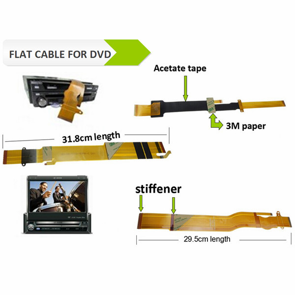 EXW Facotry Price Car DVDs fpc flat cables