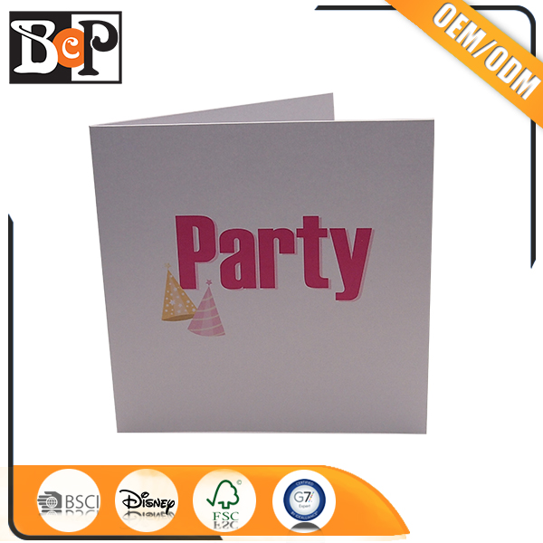 Custom Printing Invitation Lcd Video Greeting Card Module For Wholesale