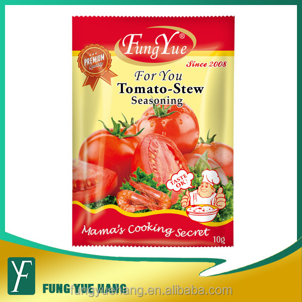 tomato flavor sachet seasoning powder for snacks soup barbecue