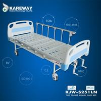 China supplier lift ultra-low disabled handicapped manual hospital bed