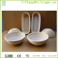 China factory direct wholesale DIY Bread displaying customized size storage rattan basket