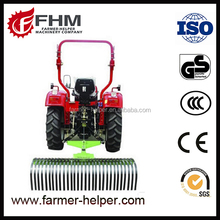 2016 FHM 3 point tractor Landscape Rake /tractor root rake for sale