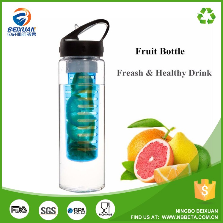 Fruit Bottle/Fruit Infuser Water Bottle BPA Free Tritan Bottle Infuser