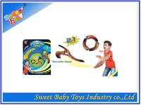 New design Plastic 2 in 1 Change Shape Frisbee,High Quality Flying Disc For Kids,Promotional Summer Toy Plastic Frisbee