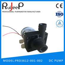 Global quality 12v/24v dc mini low pressure electric water pump for water heater in Zhongshan