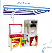 attrezzature refrigerate ice cream freezer commerciale congelatore per gelati carrello