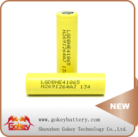 High Drain Lithium Battery for E-cig LG HE4 3.7V 2500mAh li-ion cgr18650