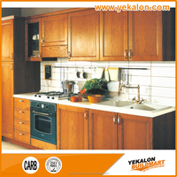Accept customization latest design base acrylic kitchen cabinet