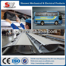 Golden dragon yutong higher volvo kinglong bus parts bus interior accessories metal luggage rack