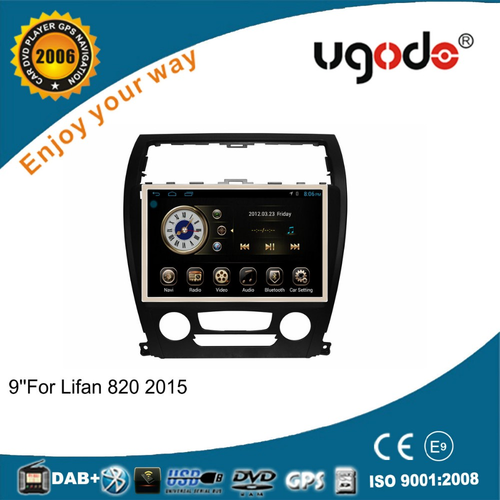 "Android 4.4.4 RK PX3 10.1"" touch screen car radio gps for 2015 Lifan 820"