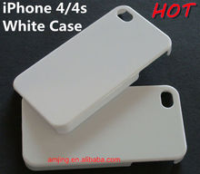White Cover for iPhone, Plain White Case for iPhone 4s iPhone 5