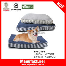 Fluffy Orthopedic Cavas Fabric Cozy Craft Pet Beds For Small Dogs