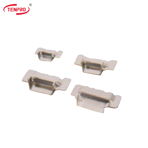 TENPRO TSBD Dentiform Buckles uncoated  sus 304/316 stainless steel cable tie buckle belt buckle custom buckle