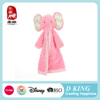 China manufacture 2016 handkerchief bibs new products good quality wholesale stuffed baby toys