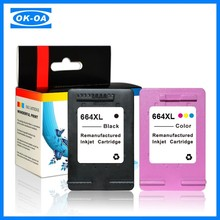 Replacement ink cartridge for hp 664xl 664 xl F6V29A ink cartridge