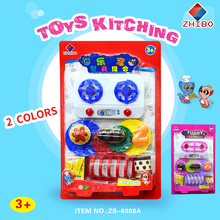 Blister plastic kitchen toys for kids