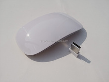 China manufacture factory price flat wireless touch mouse