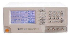 LCR meter ZC2817A with 100Hz-100KHz frequency 0.1% accuracy LCD display electronic LCR bridge