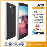 OEM unlocked 5.0inch 1280x720 HD Oncell MTK6737 Android 6.0 smartphone 4g with finger print