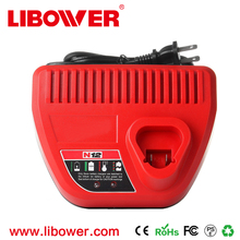Replacement Fast Charger for Milwaukee Power Tool 12V 3.0A Replacement Li-ion Battery Charger for Milwaukee Cordless Power