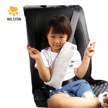 Customized Kids Car Seatbelt pillow logo embroidery