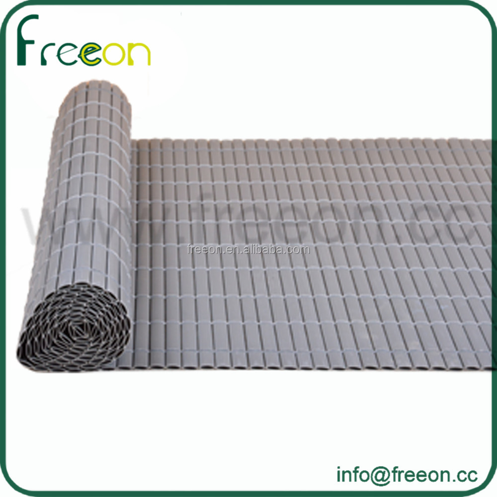 plastic bamboo fence,plastic fence boards