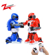 Chinese intelligent hobby toy rc fighting LED robot
