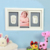 Cute DIY Wooden Baby Photo Frame Handprint And Footprint Frame Package Mold Kit Picture Frame Baby Gift Keepsakes