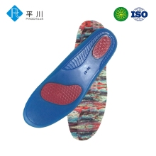 Gel insoles with memory foam liquid gel in soles type